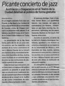 Noticias Chiapas, 21.02.2009