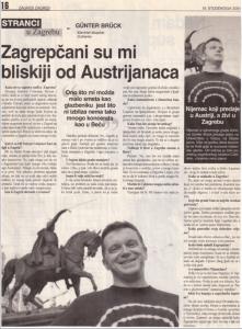 Zagreb, 19.11.2001