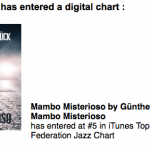 Mambo Misterioso entered charts in Russia